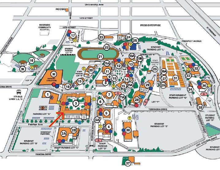 Riverside Campus Map.Cset Test Prep Classes Inland Empire Desert